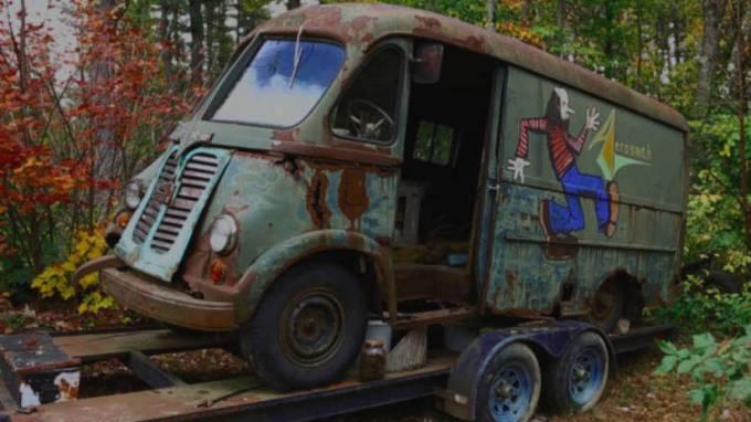 Encuentran la furgoneta de la primera gira de Aerosmith