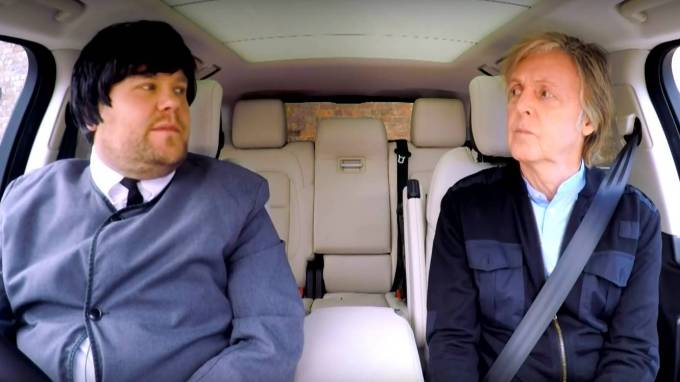 Programa especial de Carpool Karaoke con Paul McCartney