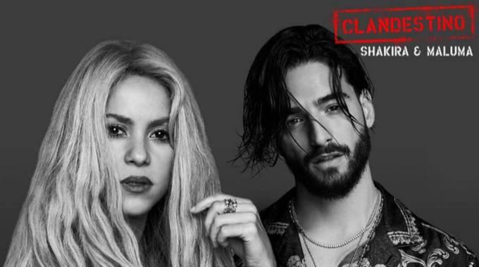 Shakira y Maluma estrenan vídeo Clandestino