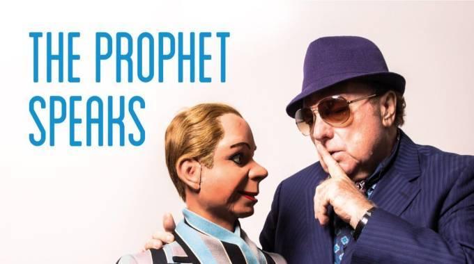 Van Morrison ultima su nuevo álbum, The Prophet Speaks