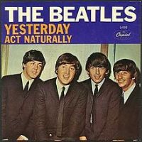 Canción  Yesterday de The Beatles