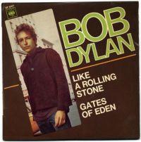 Canción  Like A Rolling Stone de Bob Dylan