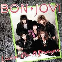 Canción  Livin' On A Prayer de Bon Jovi