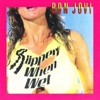 Slippery When Wet Portada inicial
