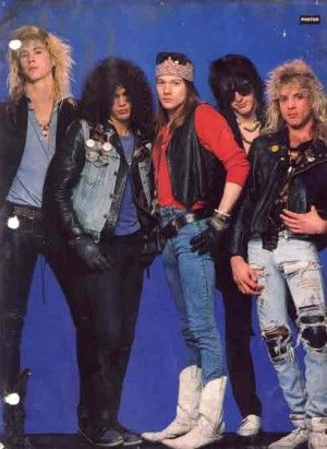 Fotos y mas fotos de Guns N' Roses