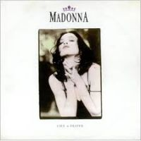 Canción  Like a prayer de Madonna