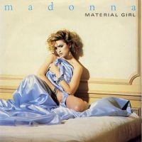 Canción  Material girl de Madonna