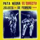 Discografía de Pata Negra: El Directo