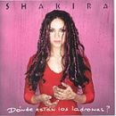 Shakira: álbum ¿Dónde están los ladrones?